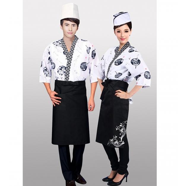 日式餐饮制服定制