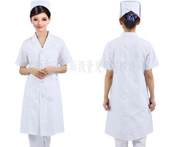 大量销售优质医用男女医生白大褂医疗制服