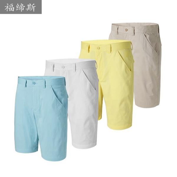 2016新款夏季男士高尔夫短裤弹力棉休闲裤