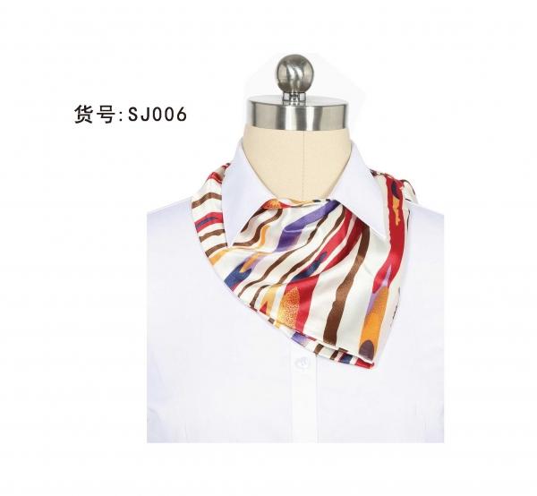 新款丝巾  制服配饰定制  多款花色可选
