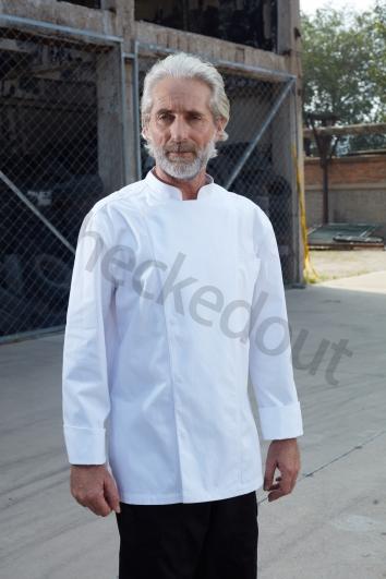 高端定制厨师服系列秋冬新品 高棉厨师长厨师服 白色、黑色