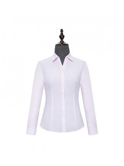 粉色女士衬衣